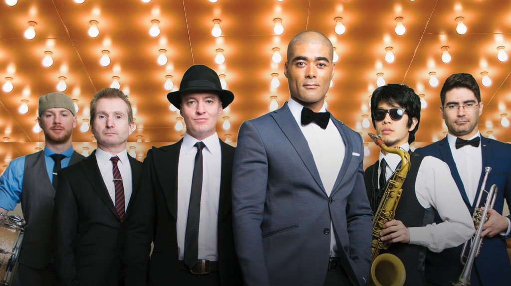 The Story Of Swing performed by Luke Thomas & The Swing Cats