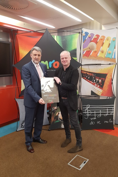 WINNER OF THE 2016 IMRO NATIONAL LIVE MUSIC VENUE OF THE YEAR AWARD
